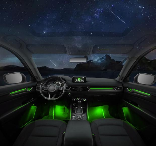 湘潭车内氛围灯升级加装,气氛灯
